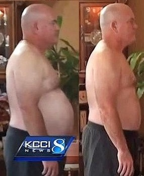 schudł 17 kilo na diecie fast food