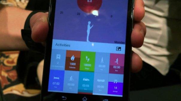 life log aplikacja do smart band