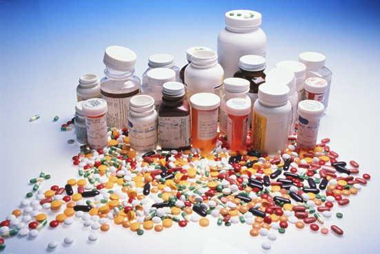 dużo tabletek