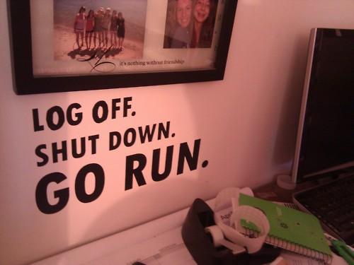 wyłącz się, przewietrz głowę biegaj