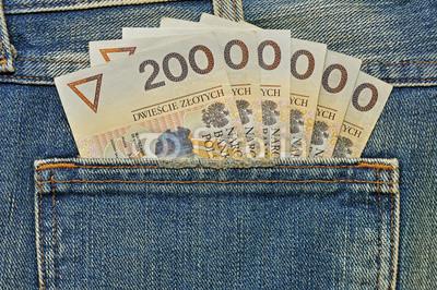 pieniądze w kieszeni bieg RAZ 25h