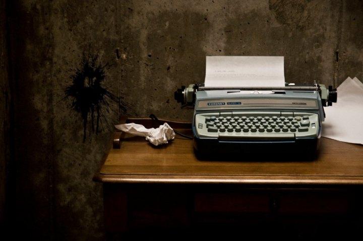 zacząć pisanie maszyna do pisania