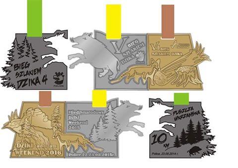 dziki weekend 2016 medale