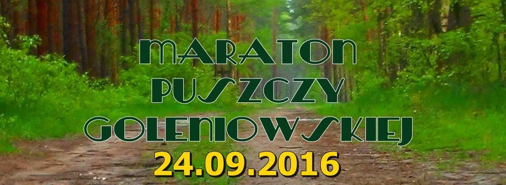 maraton puszczy goleniowskiej 2016