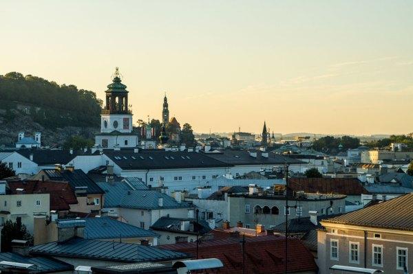 Dusk over Salzburg