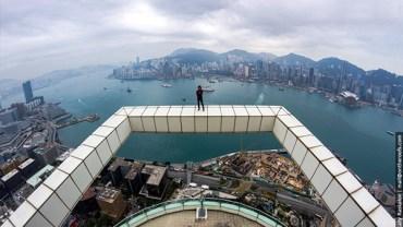 27 fotografi wykonanych na dachach Hongkongu. # 3 jest szalone!