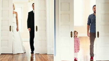 Ojciec z córką odtwarzają stare zdjęcia! Sam zobacz, jakie to niesamowite!