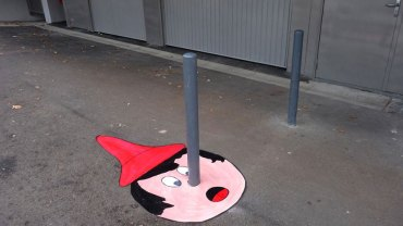 Sztuka uliczna nigdy nie nudzi! Zwłaszcza taka!
