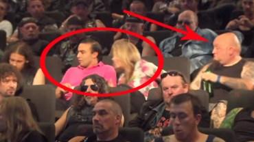 Podziwiam tych ludzi, że odważyli się usiąść obok takiego towarzystwa!