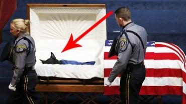 Będziesz płakać, gdy zobaczysz, co ci oficerowie zrobili dla tego zmarłego bohatera!