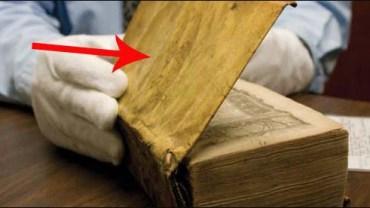Ta księga z biblioteki Harvardu skrywa mroczną tajemnicę… Odważysz się poznać przerażającą prawdę?