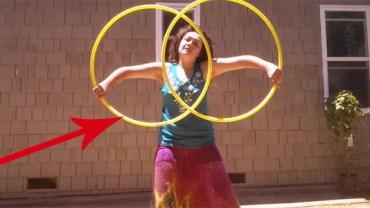 Ta dziewczyna ma niesamowity talent. A to, co robi w 2:29, przyprawia o zawrót głowy!