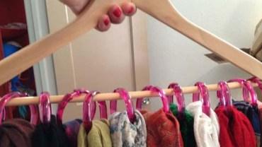 Tych 10 sposobów na przechowywanie rzeczy pomoże Ci wygospodarować dodatkowe miejsce w szafie!