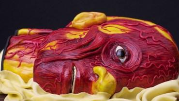Przerażająco realistyczne torty autorstwa Annabel de Vetten. [UWAGA! Tylko dla osób o mocnych nerwach!]