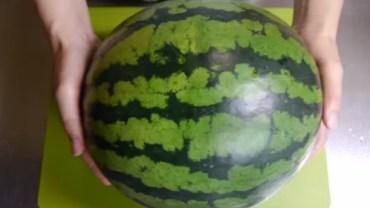 Takiego pomysłu na wykorzystanie arbuza jeszcze nie widzieliście! Wielkie WOW!