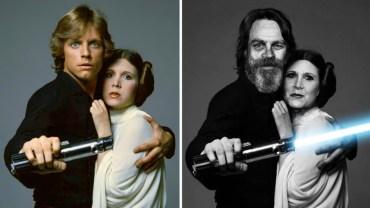 """Aktorzy """"Gwiezdnych wojen"""" kiedyś i dziś! Niektórzy nic się nie zmienili, innych możesz nie poznać!"""