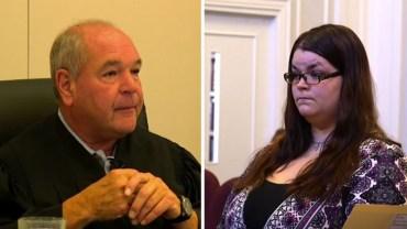 Ten sędzia wie, jak sprawić, by przestępca dotkliwie odczuł swoją winę. Alyssa Morrow przekonała się o tym dobitnie!
