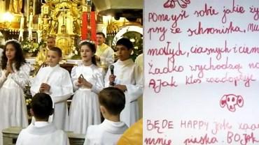 Dziewczynka poprosiła ojca o niezwykły prezent na komunię świętą. Sprawą zainteresował się znany polski aktor!