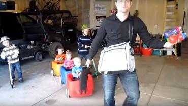 Ojciec nagrał filmik, o tym jak wygląda opieka nad piątką dzieci! 10 milionów odtworzeń pokazuje, że trafił w sedno!