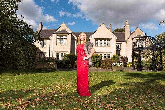 Millionaires over 40 Belinda Grashion, 55, Belinda runs a property company . at Best Western Premier. Mount Pleasant Hotel in Doncaster . 06/10/16 Photyographer ; Sonja Horsman