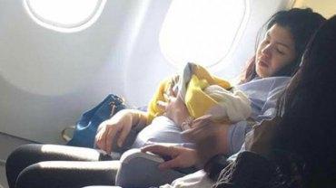 """Dziewczynka imieniem Haven przyszła na świat w samolocie, więc linie lotnicze postanowiły zrobić jej z tej okazji """"mały"""" prezent"""