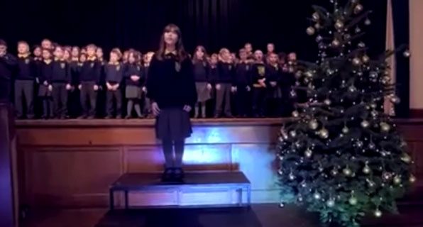 "This 10 years old girl is autistic and she barely speaks. Her version of ""Hallelujah"" left the audience speechless 3"