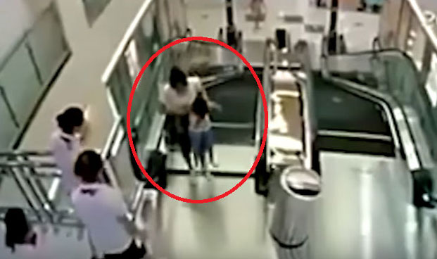 More and more Chinese people panic and stop using escalators or ride them in odd positions. The reason for this is due to a series of tragic accidents 3