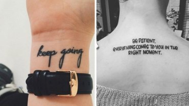 Subtelne i dyskretne tatuaże z przesłaniem, które nigdy nie stracą swej aktualności