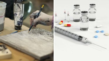 Artysta wziął 20 różnych leków i narkotyków, by namalować obrazy ukazujące, co odczuwa człowiek w poszczególnych stanach odurzenia