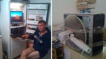 Sezon upałów się zbliża, a Twój komputer szybko się przegrzewa? Rosjanie podpowiadają, jak w alternatywny sposób ochłodzić swojego laptopa