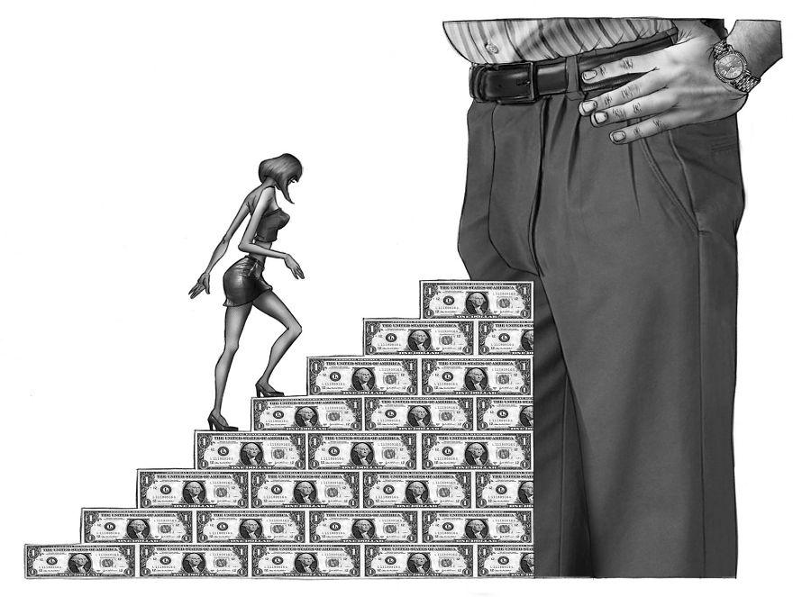 Al Margen bez ogródek wytyka wady współczesnego świata, a swoje rozgoryczenie człowiekiem XXI wieku, prezentuje w bardzo złowieszczych ilustracjach