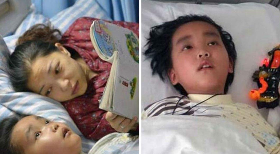 Gdy 7-letni Chen dowiedział się, że jego guz mózgu jest nieuleczalny i niedługo umrze, postanowił zostać dawcą narządów... dla własnej matki!