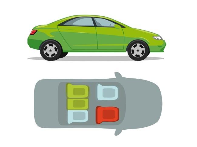 Bezpieczne i niebezpieczne miejsca w różnych środkach transportu! Zobacz, gdzie warto usiąść