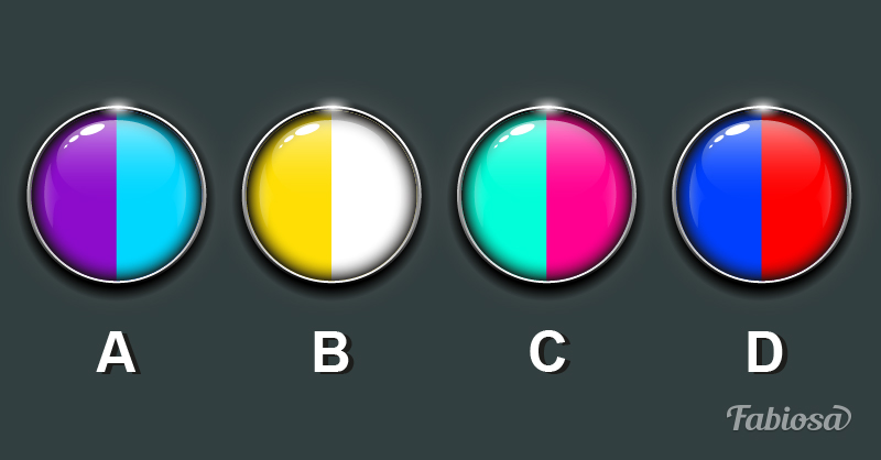 Choose a color scheme and learn something important about yourself! You will not believe how effective this test is! 4