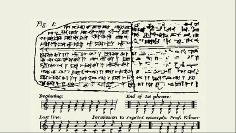 Archeologists have found the oldest song in the world! Listen to a melody recorded over 3,400 years ago! 3