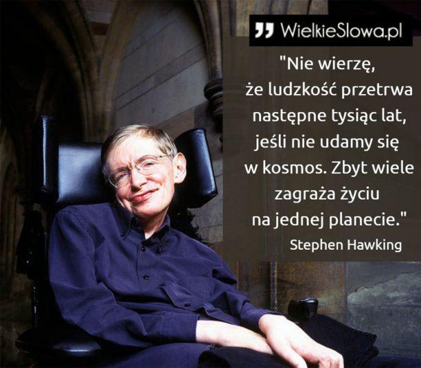 Zmarł Stephen Hawking - jeden z największych umysłów naszych czasów