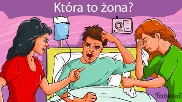 Która kobieta jest żoną pacjenta? Ta zagadka podzieliła internautów, jednak odpowiedź jest banalnie prosta!