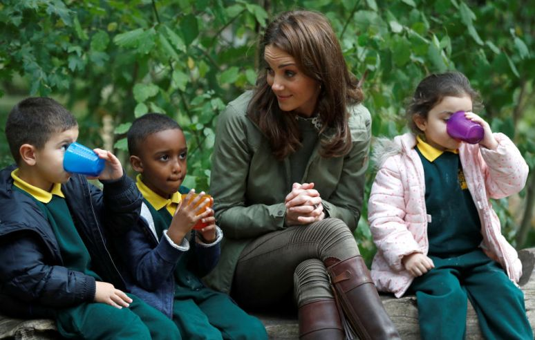 Wzruszająca odpowiedź Kate Middleton na pytanie małej dziewczynki dotknęła wszystkich! O takiej królowej marzą Brytyjczycy
