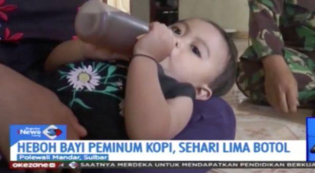 Dziewczynka wypija 1,5 litra kawy dziennie, bo jej rodziców nie stać na mleko. Jest poważnie uzależniona