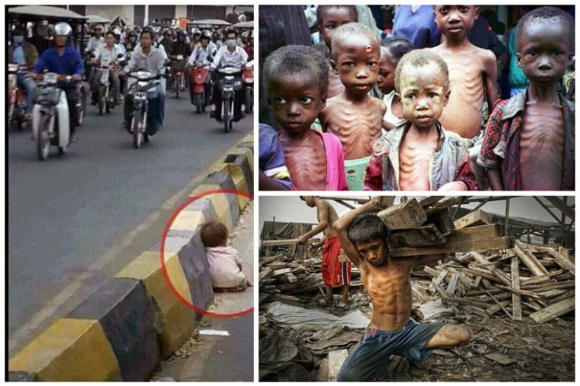 Te dzieci, nigdy nie miały dzieciństwa! Niektóre zdjecia rozdzierają serce