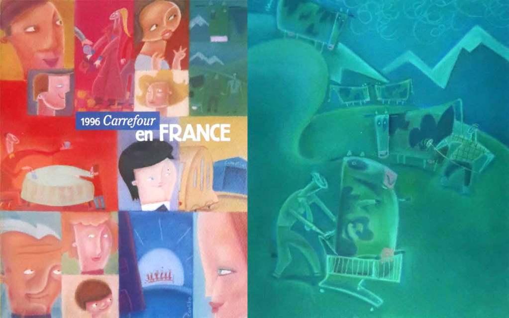 Illustrateur pour Carrefour