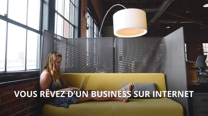 entrepreneuse sur internet
