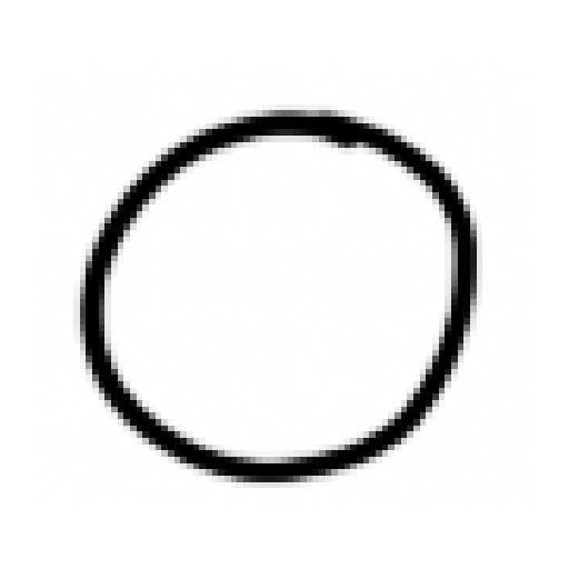 Le trait pixelisé
