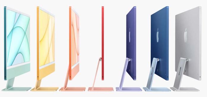 Les nouveaux Mac 2021