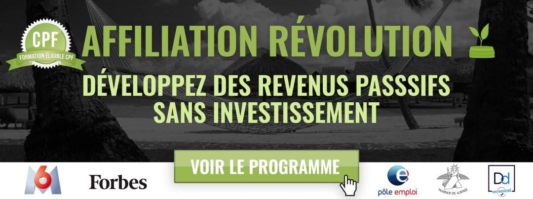 Affiliation révolution