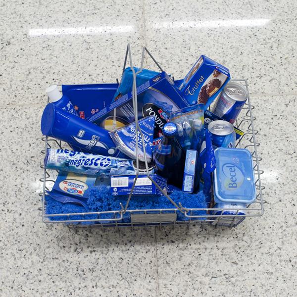 Blauw! Blauwe dingen kopen.