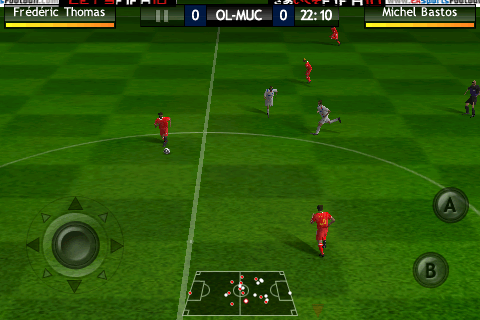 IMG 0194 - [Exclusivité] Test complet de FIFA 2010 sur iPhone !