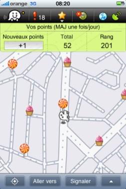 La chasse aux bonus dans Waze
