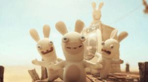Les lapins crétins youpi !