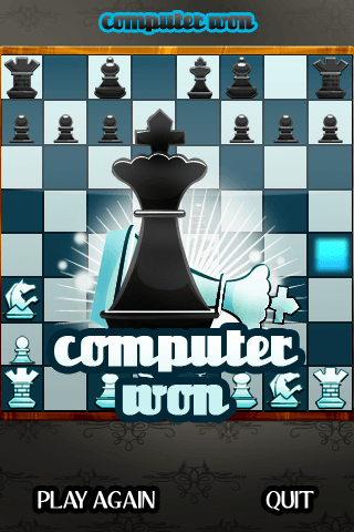 IMG 0150 - Chess Knight : le jeu d'échecs façon iPhone